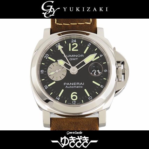 直営店に限定 パネライ パネライ 腕時計 ルミノール GMT 新品 アッチャイオ PAM01088 ブラック文字盤 メンズ 腕時計 新品, 恵那郡:99cfae61 --- airmodconsu.dominiotemporario.com