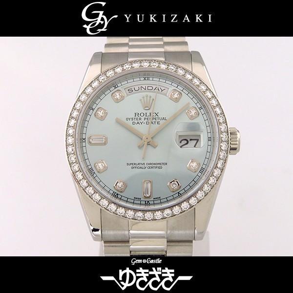 品質満点 ロレックス デイデイト 118346A 118346A アイスブルー文字盤 デイデイト メンズ 腕時計 腕時計, 浦和区:cf3cf5a8 --- airmodconsu.dominiotemporario.com