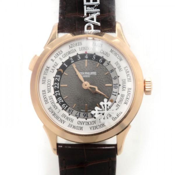 【おしゃれ】 パテック・フィリップ その他 ワールドタイム 5230R-001 ワールドタイム 5230R-001 グレー/シルバー文字盤 その他 メンズ 腕時計 新品, ヨシムラ:631de2a4 --- airmodconsu.dominiotemporario.com