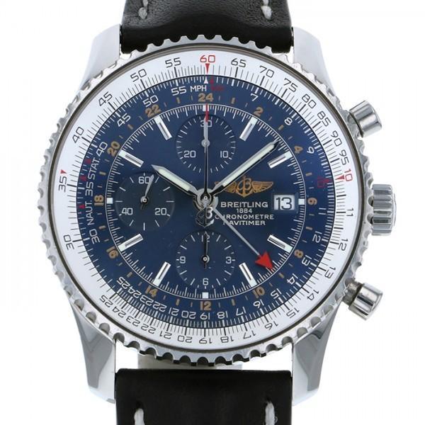 格安販売の ブライトリング ナビタイマー ブルー文字盤 メンズ ワールド A24322 ナビタイマー ブルー文字盤 メンズ 腕時計, 吉岡商事:6207ca27 --- airmodconsu.dominiotemporario.com