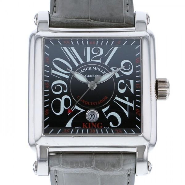 100%本物 フランク・ミュラー コンキスタドール コルテス キング 10000K SC ブラック文字盤 メンズ 腕時計, DAgDART オリジナルシルバーアクセ a00cb56e