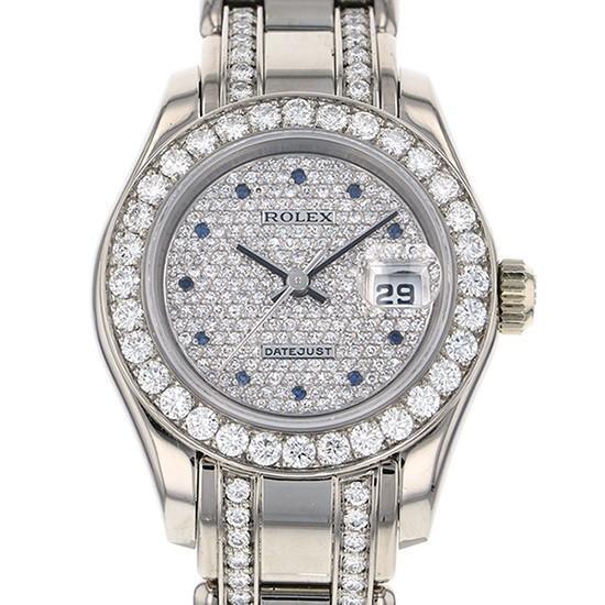 偉大な ロレックス 69299 デイトジャスト 69299 全面ダイヤ文字盤 レディース レディース ロレックス 腕時計, 海外グルメ食品のIGM:a3d83e5d --- airmodconsu.dominiotemporario.com