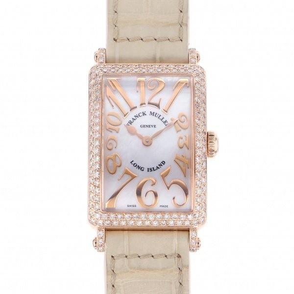 世界の フランク・ミュラー ロングアイランド レリーフ 902QZ REL MOP D ホワイト文字盤 レディース 腕時計, 一の縁 66111978