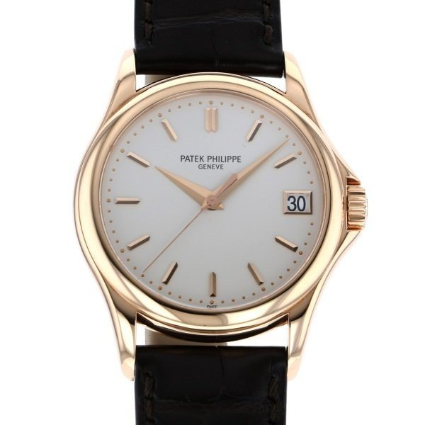 超美品の パテック・フィリップ カラトラバ 5127R-001 シルバー文字盤 メンズ 腕時計, 新潟こだわり直売店 86b56908