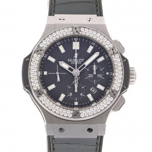 ウブロ HUBLOT ビッグバン アールグレイ ダイヤモンド 301.ST.5020.GR.1104 グレー文字盤 中古 腕時計 メンズ|gc-yukizaki