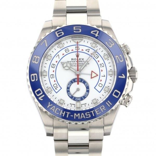 完璧 ロレックスヨットマスターII116680ホワイト, フエフキシ 4345b50c