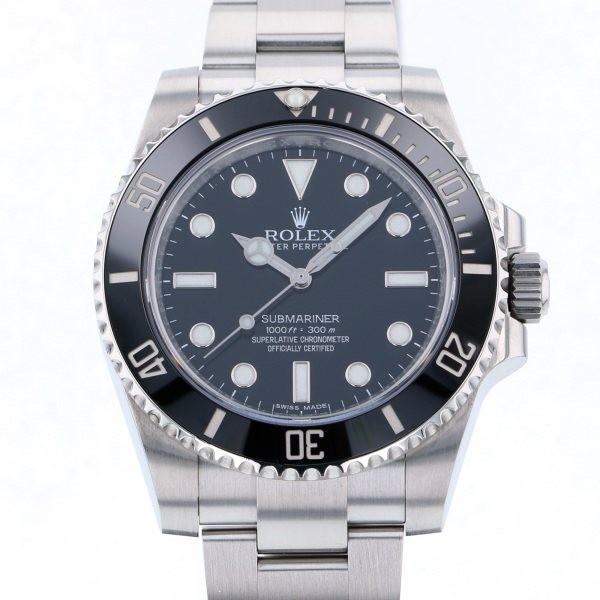 非常に高い品質 ロレックス サブマリーナ 114060 ブラック文字盤 メンズ 腕時計, ドリーム工房 bbec613d