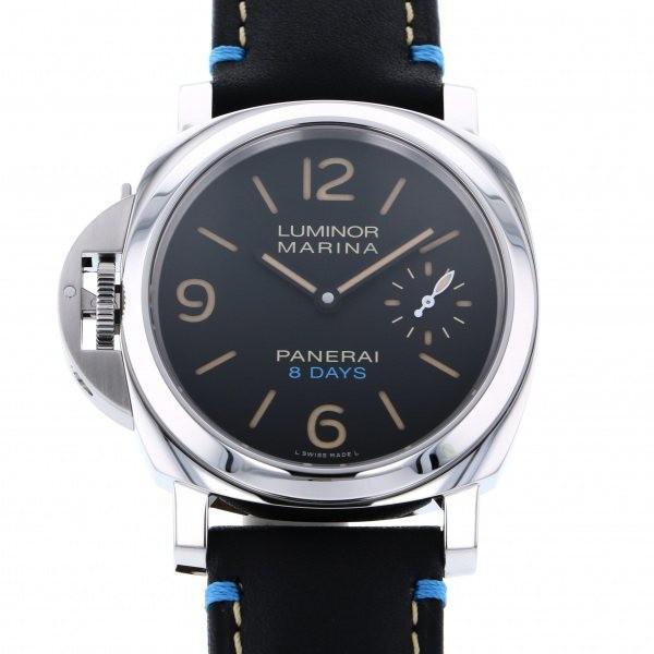 人気が高い  パネライ ルミノール レフトハンド 8デイズ アッチャイオ PAM00796 ブラック文字盤 メンズ 腕時計 新品, EMC 0ecf7f7d