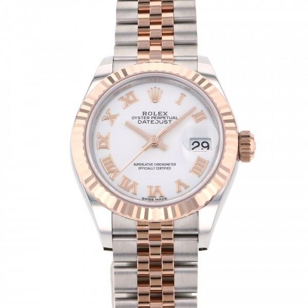 魅了 ロレックス デイトジャスト 28 279171 ホワイトローマ文字盤 レディース 腕時計 新品, ゆうひ堂 7cb136f8