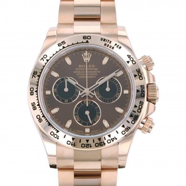 【メール便送料無料対応可】 ロレックス デイトナ 116505 116505 チョコレート デイトナ 腕時計/ブラック文字盤 メンズ 腕時計 新品, 1個売りピアスの専門店 Can Lino:e277fc98 --- airmodconsu.dominiotemporario.com