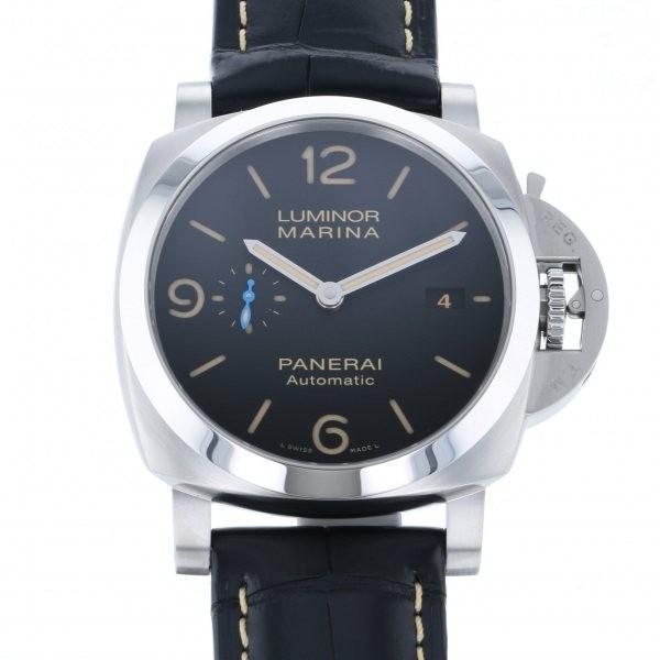 超安い品質 パネライ ルミノール マリーナ 1950 3デイズ オートマティック アッチャイオ PAM01312 ブラック文字盤 メンズ 腕時計 新品, 南国フルーツ-果実村TOKIO cbeea93a