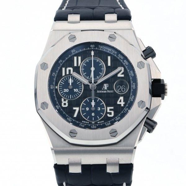 素敵な オーデマ・ピゲ ロイヤルオークオフショア クロノグラフ 26470ST.OO.A028CR.01 ブラック文字盤 メンズ 腕時計 新品, 木のおもちゃ&ギフト ニコリ f52793ce