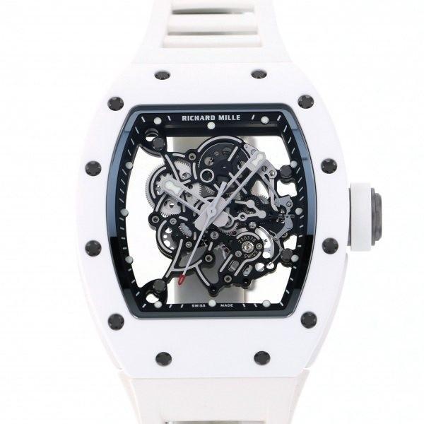 【希少!!】 リシャール・ミル メンズ その他 その他 バッバ・ワトソン RM055 腕時計 シルバー文字盤 メンズ 腕時計 新品, 左京区:dfb9a688 --- airmodconsu.dominiotemporario.com