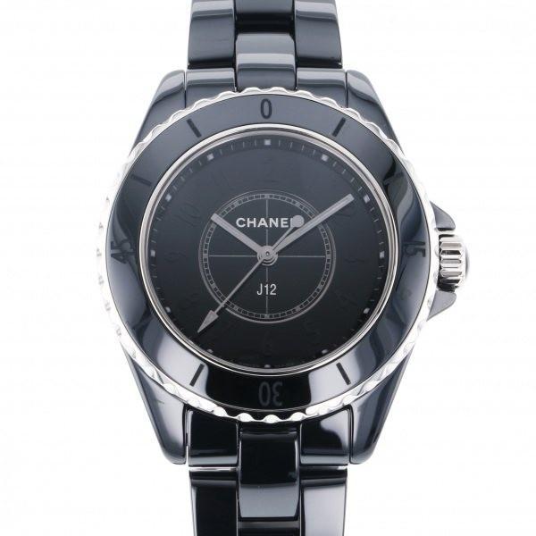 【驚きの価格が実現!】 シャネル J12 ファントム ブラック 世界限定1200本 H6346 ブラック文字盤 レディース 腕時計 新品, (税込) 9cb2f508