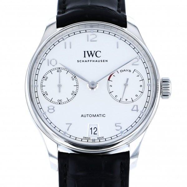 超格安価格 IWC メンズ ポルトギーゼ オートマティック 7デイズ IW500712 シルバー文字盤 メンズ 腕時計 IW500712 IWC 新品, イマダテグン:35932e27 --- airmodconsu.dominiotemporario.com