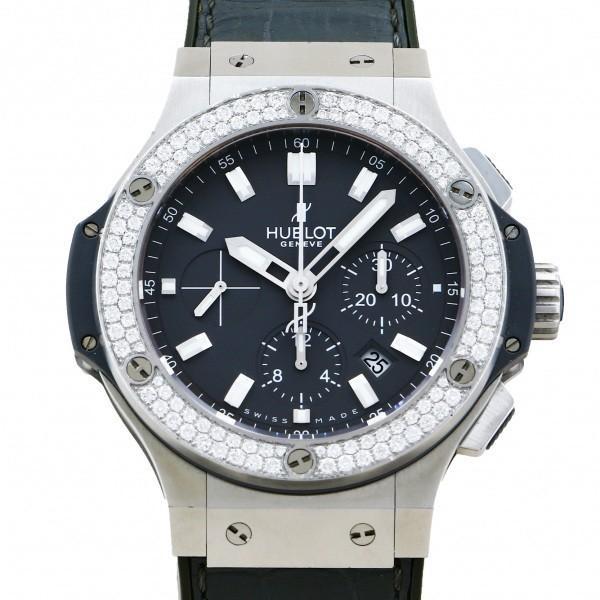 ウブロ HUBLOT ビッグバン アールグレイ ダイヤモンド 301.ST.5020.GR.1104 グレー文字盤 中古 腕時計 メンズ gc-yukizaki