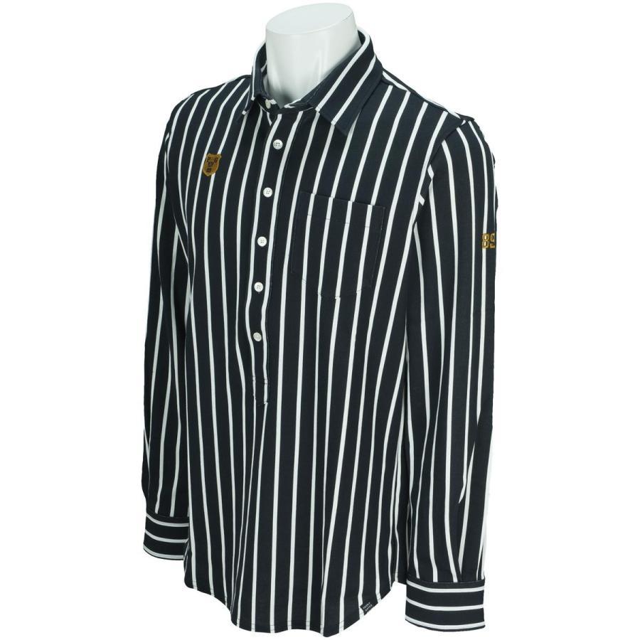 【限定セール!】 パーリーゲイツ PEARLY GATES ソリストヒートポンチ ストライププリント 長袖ポロシャツ, フクトク 7b95be51