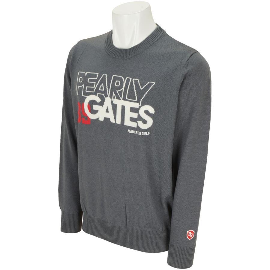 パーリーゲイツ PEARLY GATES インターシャセーター