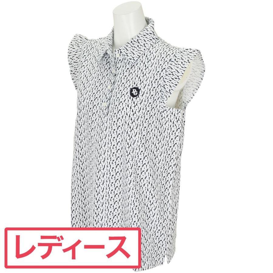パーリーゲイツ PEARLY GATES ロゴプリント 半袖ポロシャツ レディス