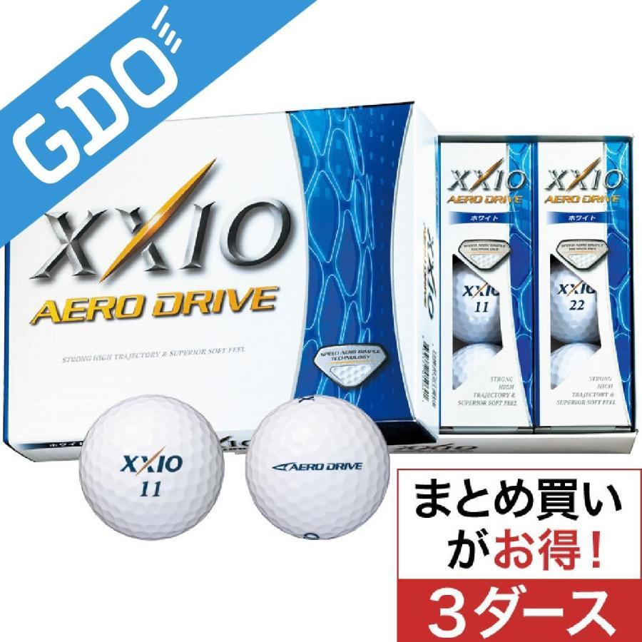ダンロップ XXIO ゼクシオ エアロ ドライブ ボール 3ダースセット ボール