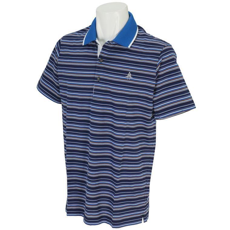 ポール・スチュアート スポーツ Paul Stuart SPORT ゴルフウェア メンズ 半袖シャツ・ポロシャツ マルチボーダーポロシャツ J7P50124 半袖シャツ・ポロシャツ