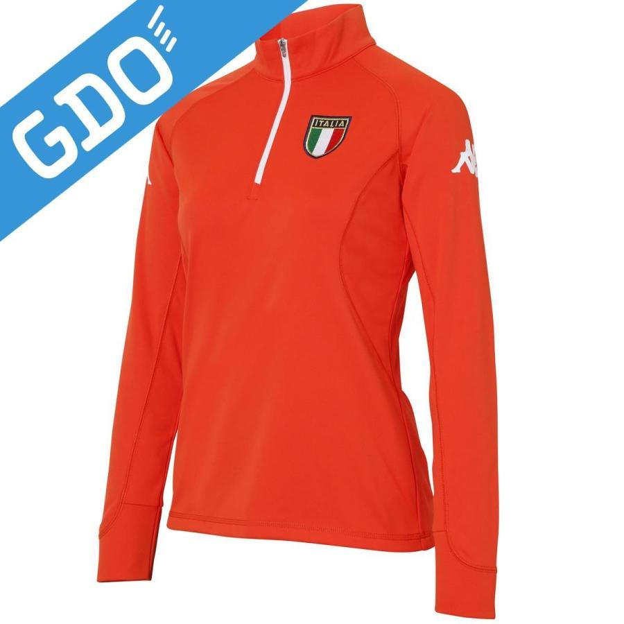 バーゲンで カッパ Kappa ITALIA ジップアップ長袖シャツ KC662LS81 レディス 長袖シャツ・ポロシャツ, プレジャー 6dfa2cb6