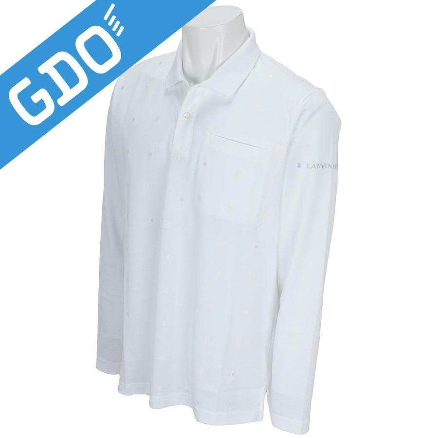 ランバン スポール LANVIN SPORT 長袖ニットポロシャツ VMJ1032X4 長袖シャツ・ポロシャツ