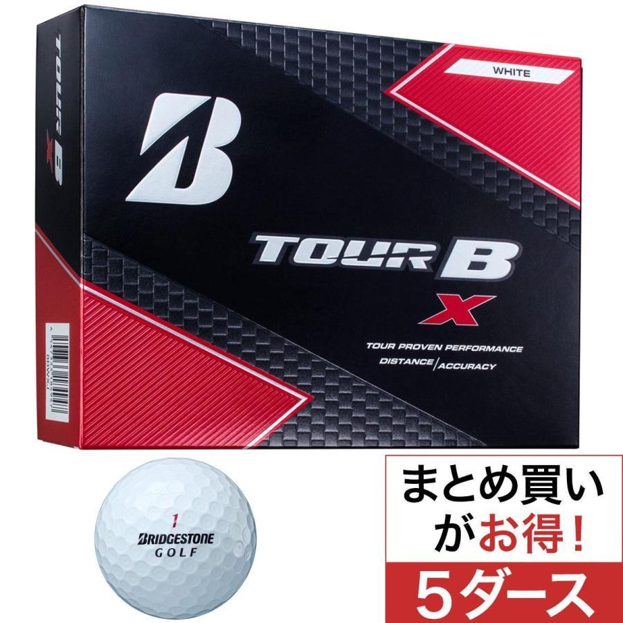 ブリヂストン TOUR B TOUR B X BS GOLFロゴ ボール 5ダースセット