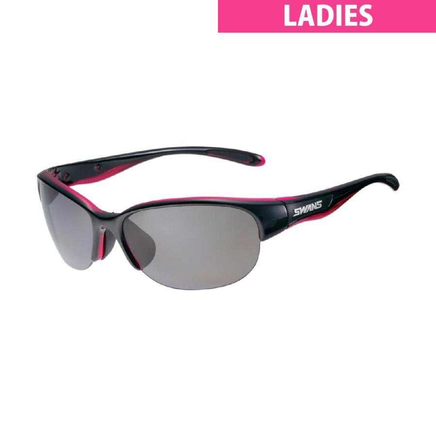 【送料無料/新品】 SWANS スワンズ 偏光レンズ スポーツサングラス レディス, B-CASA 77008410