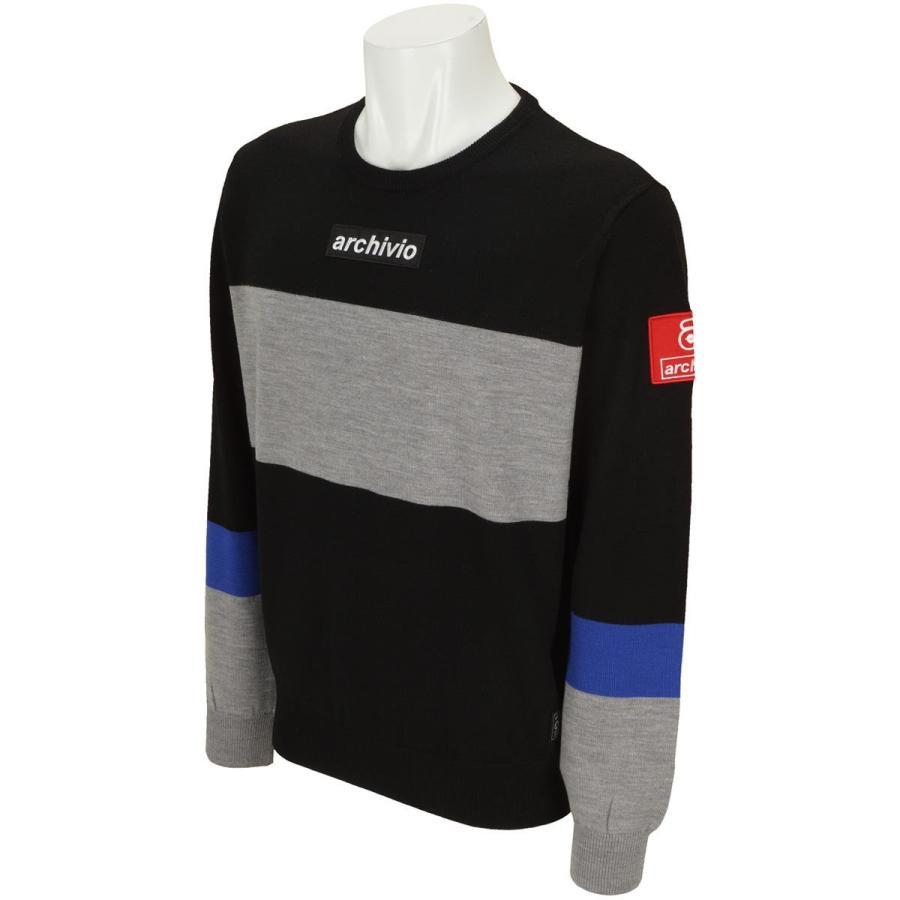 古典 アルチビオ archivio 丸首セーター, CliffEdgeR 53d62a25