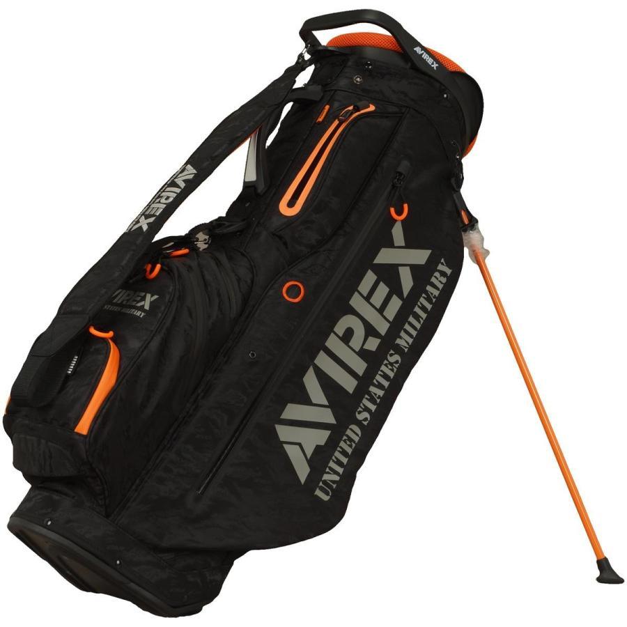 今季ブランド アビレックス ゴルフ GOLF ゴルフ AVIREX GOLF アビレックス スタンドキャディバッグ, レザージャケットのリューグー:f871d685 --- airmodconsu.dominiotemporario.com