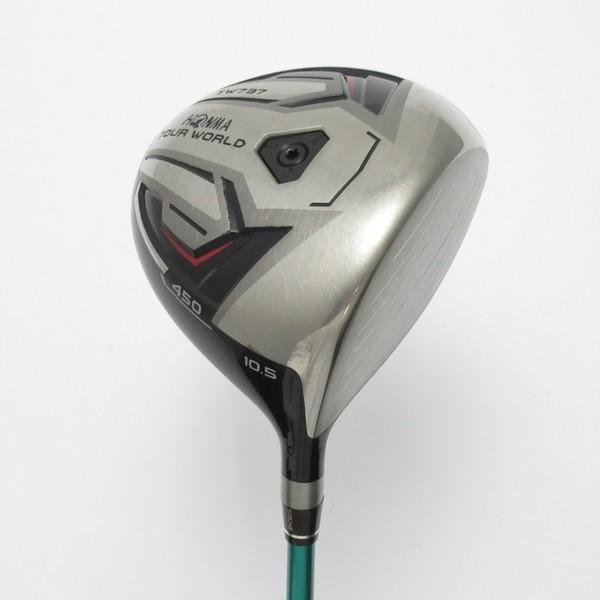 本間ゴルフ TOUR WORLD ツアーワールド TW737 450 ドライバー VIZARD EX-A55