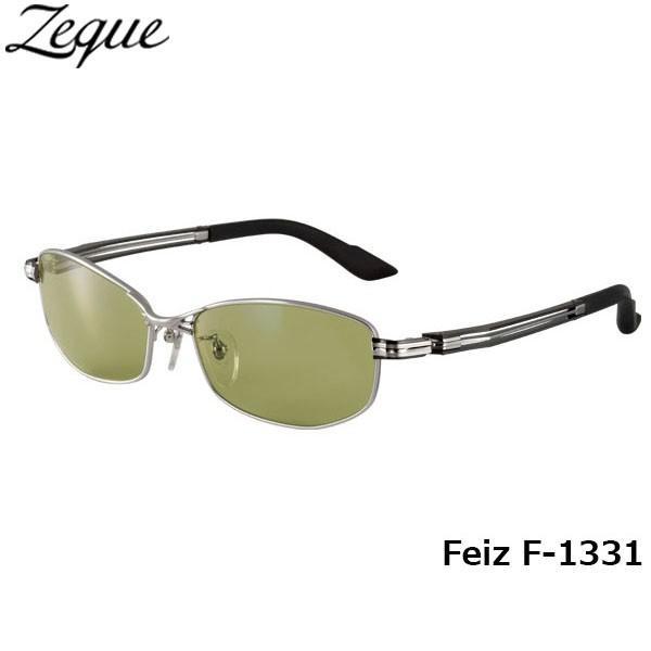 ジールオプティクス ZEAL OPTICS 偏光サングラス Feiz フェイズ F-1331 マットクローム イーズグリーン グレンフィールド GLE4580274163473