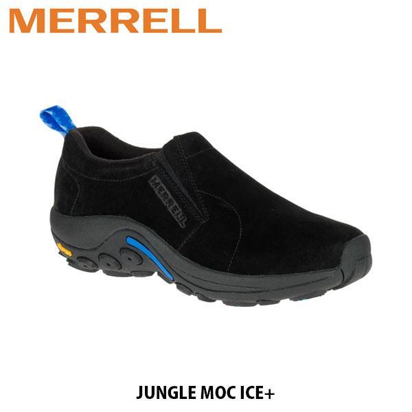 メレル MERRELL メンズ スリッポン モックシューズ ジャングル モック アイスプラス ブラック JUNGLE MOC ICE+ 冬 37827 MERM37827