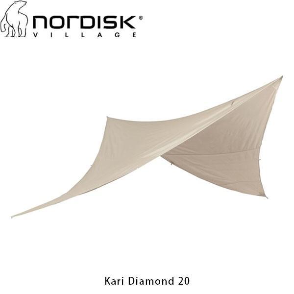 ノルディスク NORDISK タープ カーリ ダイヤモンド20 Kari Diamond 20 キャンプ アウトドア 242009 142009 NOR242009 国内正規品