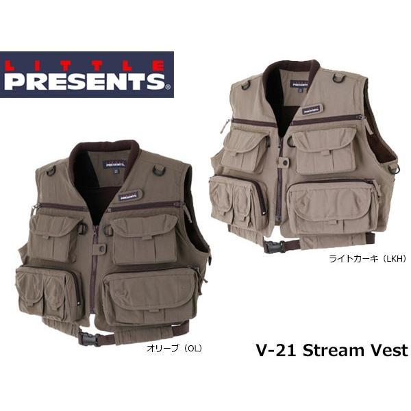 リトルプレゼンツ LITTLE PRESENTS ストリームベスト Stream Vest V-21 V21