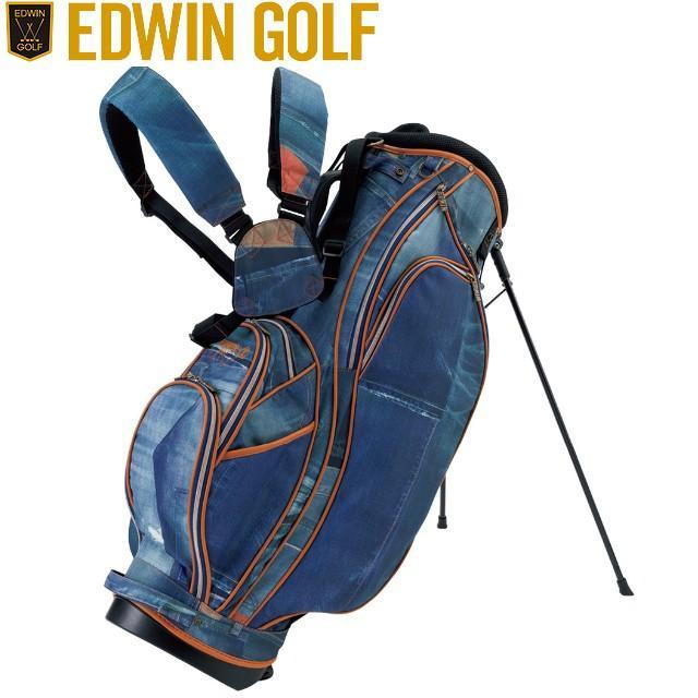 【送料無料】 EDWIN GOLF エドウィン ゴルフ スタンドキャディバック EDWIN-036S
