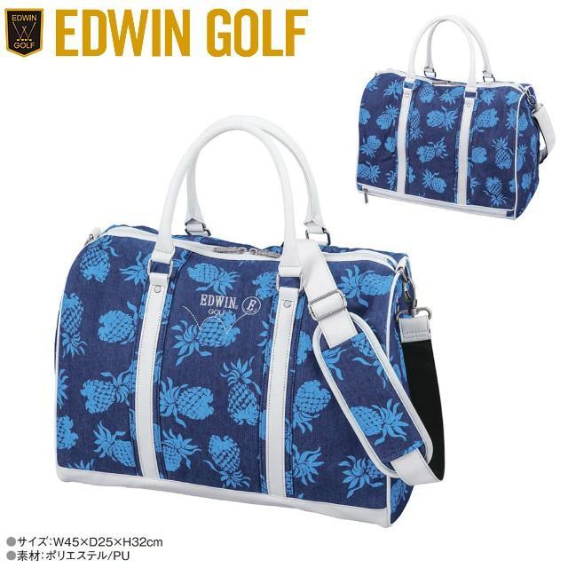 【送料無料】 EDWIN GOLF エドウィン ゴルフ ボストンバック EDWIN-138