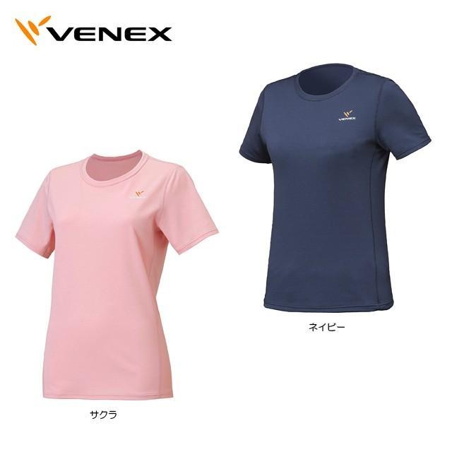 【送料無料】Venex ベネクス スタンダードドライショートスリーブ レディース 6528
