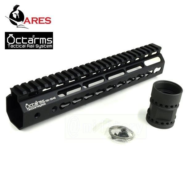 OCTAARMS 10インチ キーモッド システム ハンドガードセット ブラック