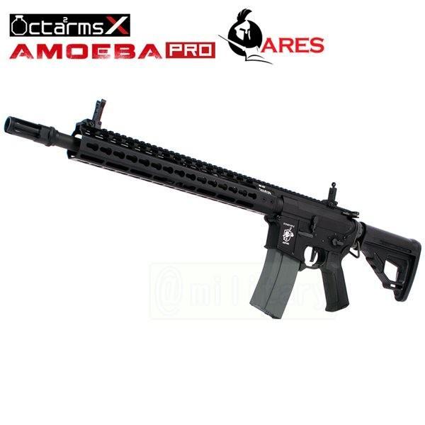ARES 【AMOEBA PRO】 M4-KM13 アサルトライフル 電動ガン BK