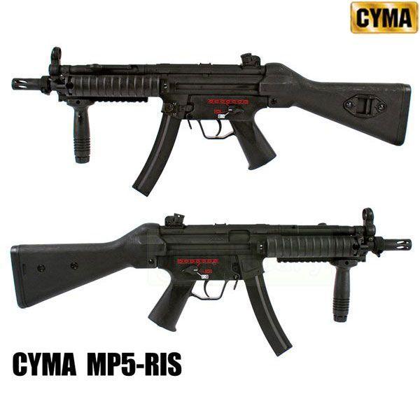 CYMA MP5 RIS スタンダード電動シリーズ