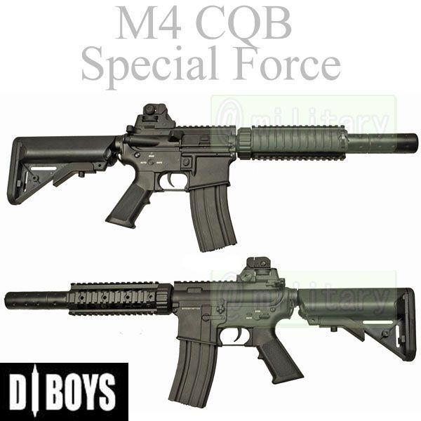 D-Boys M4 CQB Special Force 電動 フルメタル