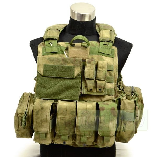 FLYYE Force Recon Vest with Pouch Set Ver.MAR A-TACS FG 迷彩