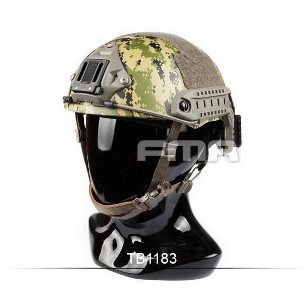 FMA Ops-Core Fast Ballistic ヘルメット レプリカ (AOR2) (ピカティニーレール&ウイングロックレール付属)