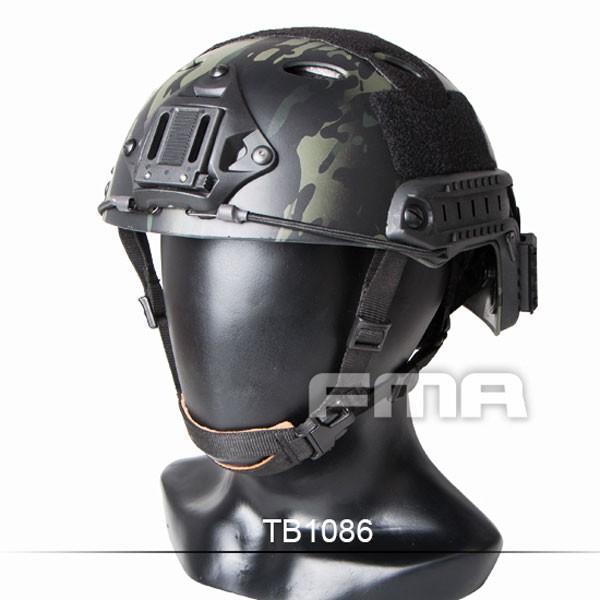 FMA FASTヘルメット PJタイプ Multicam 黒