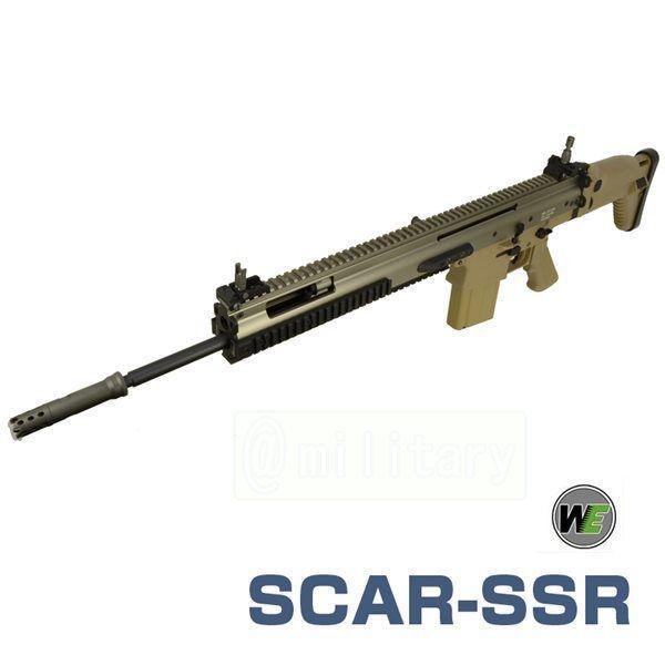 WE SCAR-SSR / MK20 電動ガン TAN