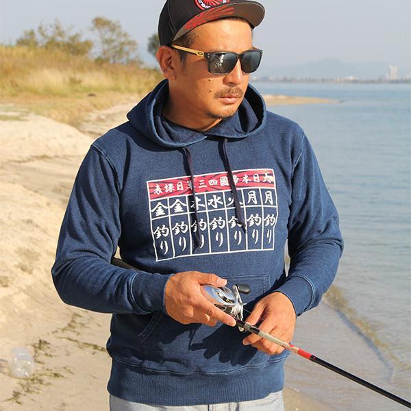 GEEZER 毎日釣りパーカー デニム|geezer|03