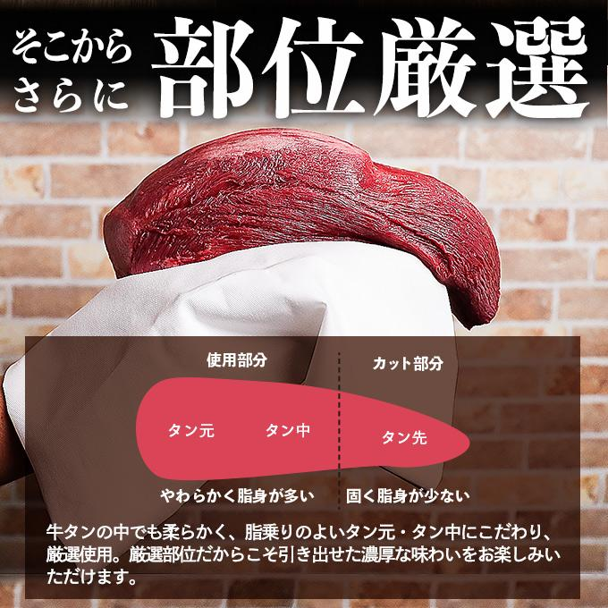 牛タン 訳あり 送料無  焼肉 牛肉 ギフト お取り寄せ グルメ 食品 2021 おすすめ スライス済 焼くだけ 簡単 ポイント消化 厚切り 牛たん 1kg (500g×2)|geki-niku|10