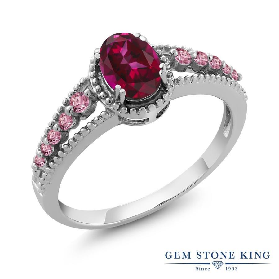 大量入荷 天然石 レッドトパーズ (スワロフスキー 天然石) 指輪 レディース リング 合成ピンクダイヤモンド 大粒 一粒 プレゼント 女性 嫁 誕生日, 仁多町 089bf620
